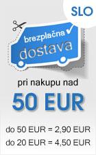 Brezplačna dostava pri nakupu nad 50 EUR